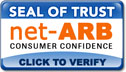 The net-ARB Seal of Trust identifies businesses that value honesty and accountability